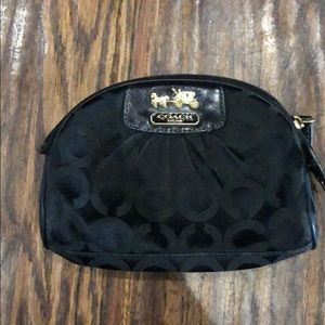 Coach cosmetic case